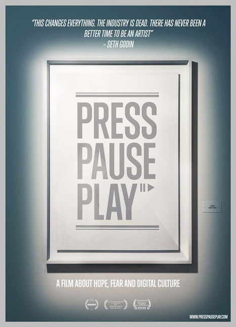 Graphisme & interactivité blog par Geoffrey Dorne » [documentaire] La révolution créative numérique : «Press Pause Play» | Copyleft, Do it with others | Scoop.it