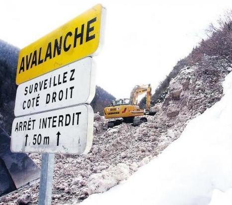 Aulon. La route sera sécurisée par des râteliers | Vallée d'Aure - Pyrénées | Scoop.it