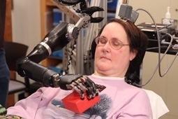 Cyborg Future Draws Closer As Woman Controls Robotic Arm With Brain Implant | Spiritual, Scientific Convergence | Scoop.it