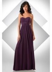 A Line Sweetheart Floor Length Grape Bridesmaid Dress Bbbj0025 for $319 | 2014 landybridal wedding party dresses | Scoop.it