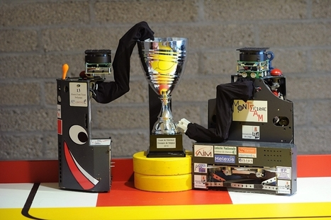 L'Avenir ⎥Les robots liégeois Lee et Joy remportent la coupe de Belgique de robotique | L'actualité de l'Université de Liège (ULg) | Scoop.it