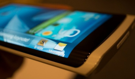 Curved screens not weird enough for you? Samsung plans a three ... | samsung | Scoop.it