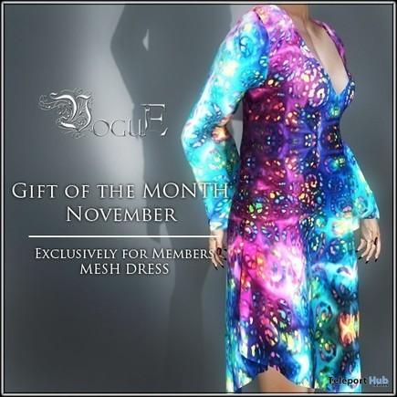 Colorful Dress Group Gift by VoguE | Teleport Hub - Second Life Freebies | Second Life Freebies | Scoop.it