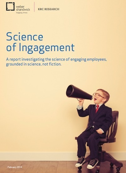 """Science of Ingagement, research by Weber Shandwick 