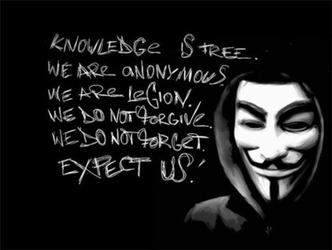 Comment le renseignement anglais a traqué les Anonymous et LulzSec - #Snowden #hacking | Digital #MediaArt(s) Numérique(s) | Scoop.it