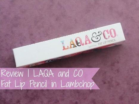 Raspberrykiss | UK Beauty Blog: Review | LAQA and CO Fat Lip Pencil in Lambchop | Beauty | Scoop.it