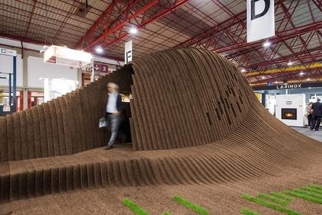 CNC-Cut pavilion is a Wave of Renewable Cork in Portugal   Live   Scoop.it