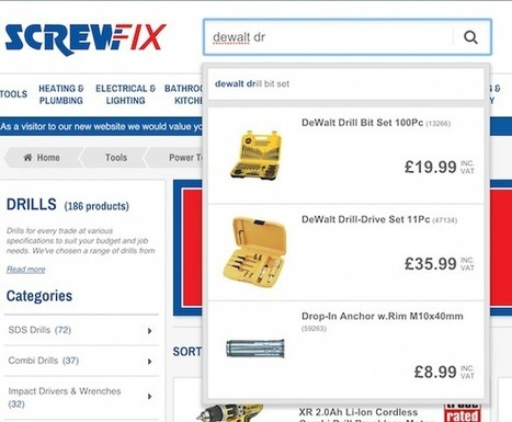 Five UX lessons retailers can take from Screwfix.com   Digital Marketing   Scoop.it