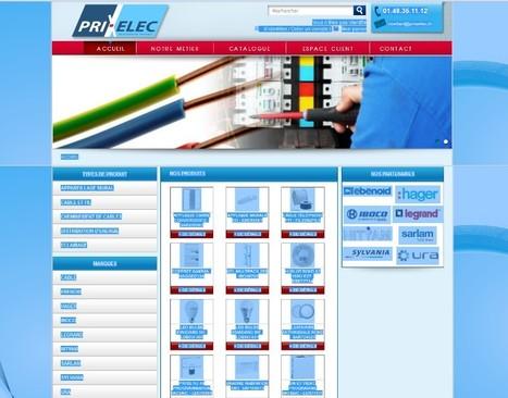 Prixelec -Nouveau site pour les professionnels électriques   Beauty Push, bureau de presse   Scoop.it