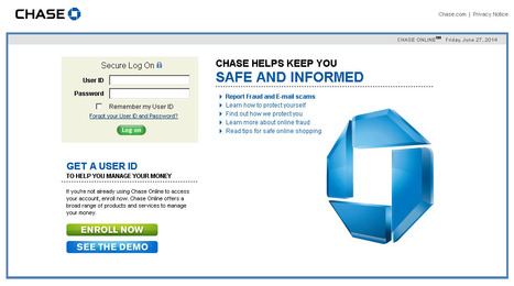 Chase Bank Online Login | curate | Scoop.it