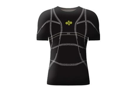 D-Shirt, le nouveau tee-shirt connecté pour les amateurs de course | Les dernières innovations digitales | Scoop.it