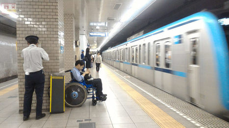 Wheelchair Accessible Tokyo: 9 Transit Tips - Odigo Travel Blog   Accessible Travel   Scoop.it