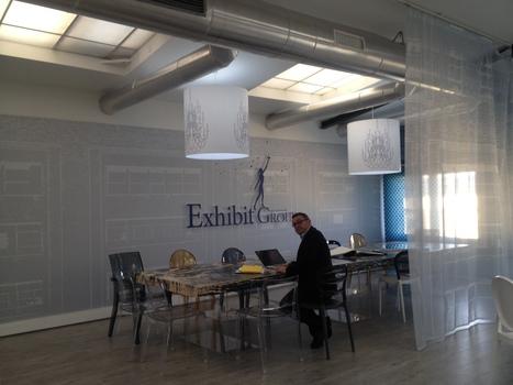 Inauguration du showroom Exhibit Group ! | La communication visuelle dans tous ses états... | Scoop.it
