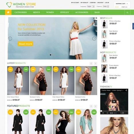 Women Store Prestashop Theme | Prestashop Theme Download | Best Prestashop Themes | Scoop.it