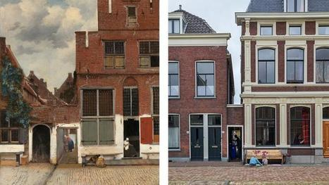 Un chercheur hollandais localise La Ruelle de Vermeer | Arts et FLE | Scoop.it