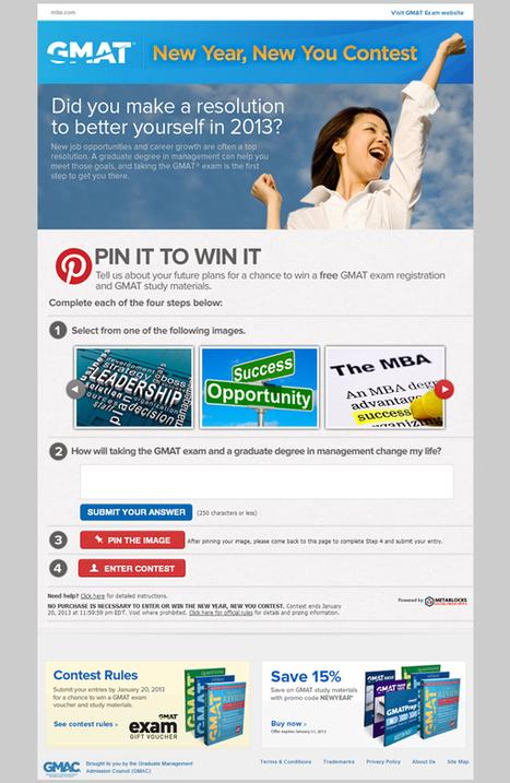 GMAT Scores Big with Pinterest Contest | Pinterest | Scoop.it