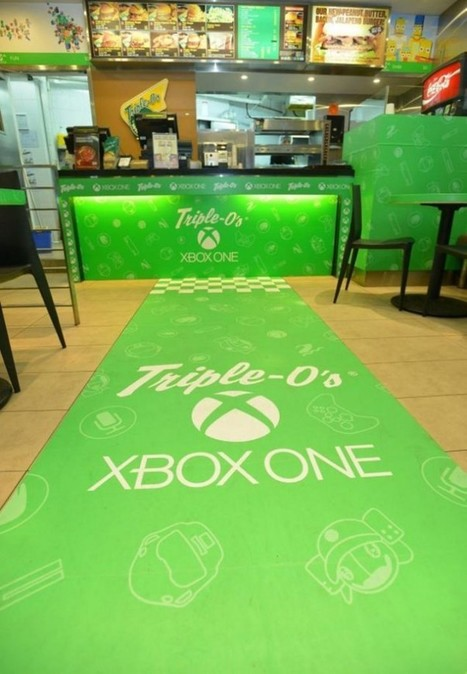 Microsoft lance son burger en Chine pour promouvoir sa Xbox One | Marketing DailyPost | Scoop.it