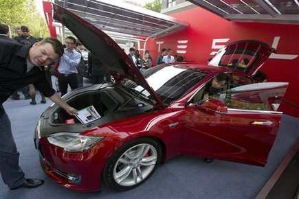 Tesla delivers first China cars, plans expansion | Sustain Our Earth | Scoop.it