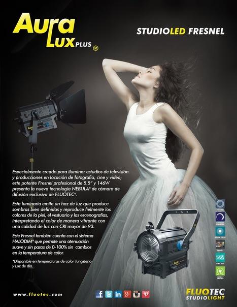 Nuevos Fresneles LED de Fluotec están disponibles | Tecnología | Noticias | TV Producción & New Media | CINE DIGITAL  ...TIPS, TECNOLOGIA & EQUIPO, CINEMA, CAMERAS | Scoop.it