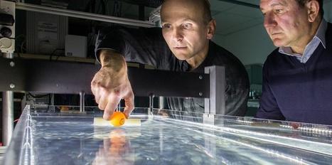 Ce rayon tracteur permet de déplacer à distance les objets sur l'eau | myScience | Scoop.it