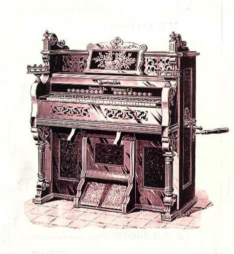 Cornish Cataloque from ca. 1915 | Harmoniums and Reed Organs | Scoop.it