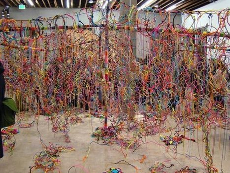 Build It Up to Tear It Down by Lacey Jane Robert | Art Installations, Sculpture, Contemporary Art | Scoop.it