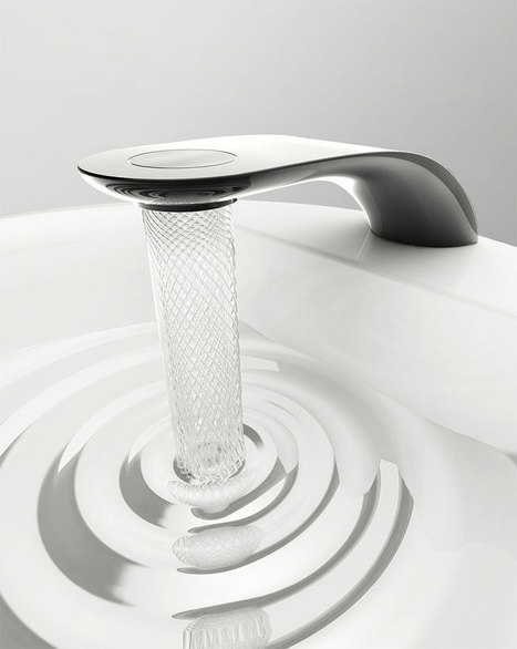 Student's Faucet Design Saves Water By Swirling It Into Beautiful Patterns   water   Scoop.it