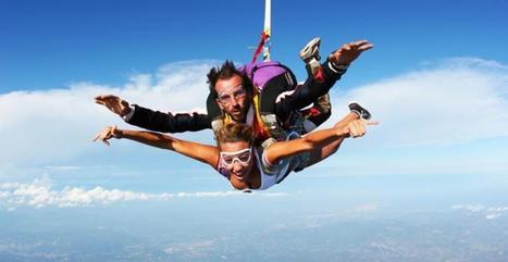 Saint Valentin : 5 cadeaux extrêmes à faire en couple | meltyXtrem | sautenparachute | Scoop.it