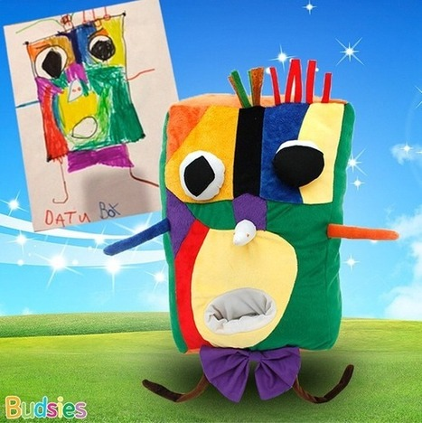 Budsies, One-of-a-Kind Plush Toys Based on Children's Artwork | Alchemy of Business, Life & Technology | Scoop.it