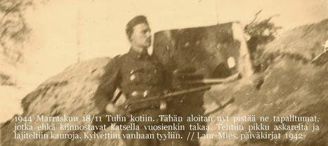 21.-31.12.1942 Joulun viettoa ja tilipäivä - Laur-Miehen päiväkirjat ... | Liljeström | Scoop.it