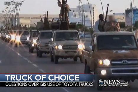 Quand l'Etat islamique roule en Toyota : les USA lancent une enquête @OLIConseil | 694028 | Scoop.it