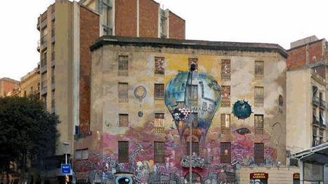 Barcelona protegeix l'antiga casa okupa La Carboneria i en mantindrà el grafiti de la façana | #territori | Scoop.it