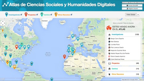 Atlas of Digital Humanities and Social Science | #DH #dataviz | Digital humanities | Scoop.it