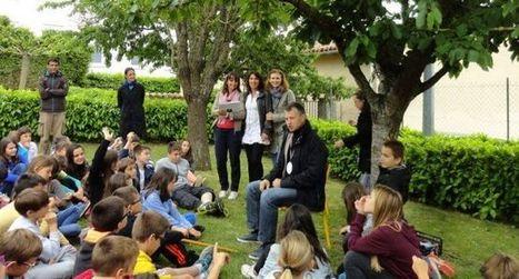 Les élèves rencontrent l'auteur Erik Lhomme - ladepeche.fr | Aventure littéraire | Scoop.it