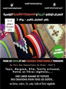 Foire du tapis et du tissage traditionnel tunisie | Foire nationale du tapis et tissages traditionnelles | Scoop.it