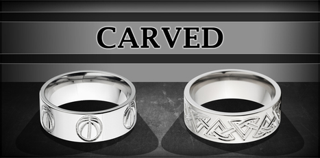 Titanium Rings, Titanium Rings Women, Titanium Men Ring - The Jewelry Source | Camo rings for men | Scoop.it