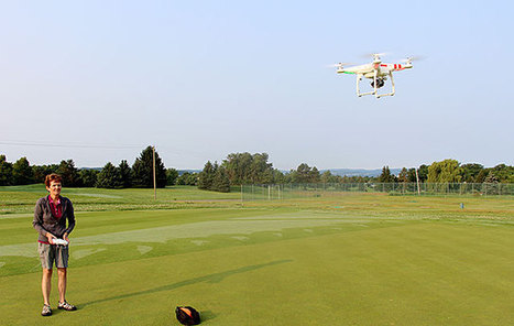 Video: Drone provides bird's-eye view for turf researchers | Turf Maintenance | Scoop.it