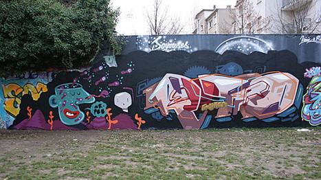 Street Art : graffitis & Fresques Murales à Montreuil   CaféAnimé   Scoop.it