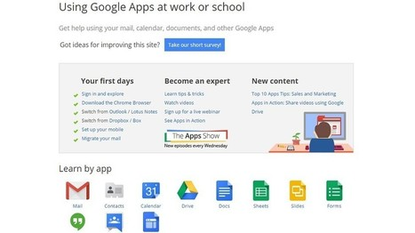 Google Apps as LMS and #PLE | Moodle and Web 2.0 | Scoop.it