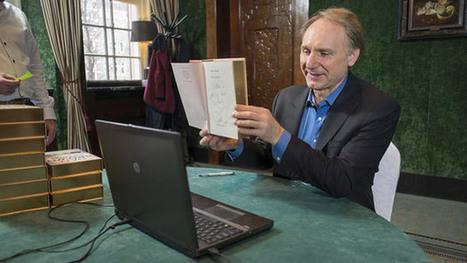 Dan Brown dédicace son livre en visioconférence | Entrepreneurs du Web | Scoop.it