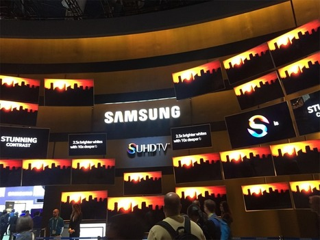 Samsung Unveils Its New Curved SUHD TV At CES 2015 | Gadgets | Scoop.it