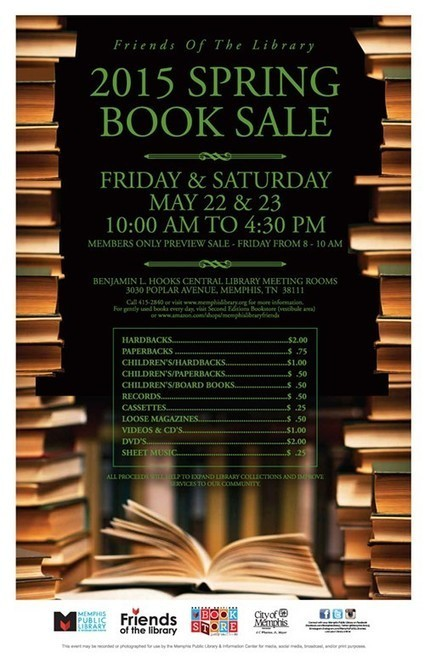 Spring Book Sale To Benefit the Memphis Public Library | Tennessee Libraries | Scoop.it