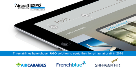 Display Interactive announces three airlines for UGO, its In-Flight Entertainment solution. | UGO | IFE, IFEC | Scoop.it