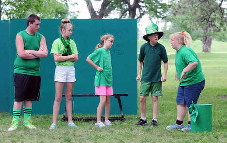 Theater campers wrap up session with Gage Park shows | cjonline.com | OffStage | Scoop.it