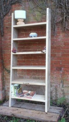 Wooden Book Shelves made from Recycled Scaffold Boards | House Design | Scoop.it