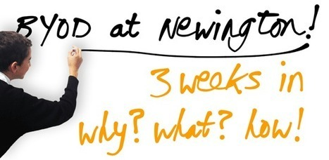BYOD at Newington | BYOT @ School | Scoop.it
