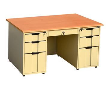 CBNT #Double #bucket #office #desk http://www.hi-cabinet.com/metal-office-desk/double-bucket-office-desk.html | CBNT Steel Cabinet Co.,Ltd. | Scoop.it