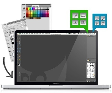 6 alternatives gratuites à Photoshop | Web Design et Digitale outils | Scoop.it