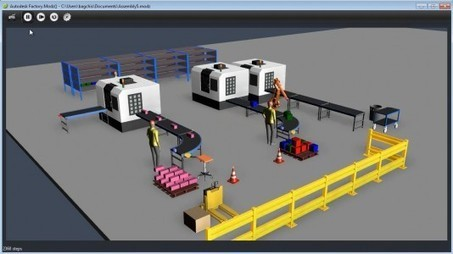 GraphicSpeak » Autodesk Labs Factory.Modz() brings gameware physics to factory layout. | Complex Insight  - Understanding our world | Scoop.it