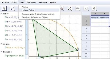 GeoGebra, software gratuito para enseñar y aprender Matemáticas | Las TIC y la Educación | Scoop.it